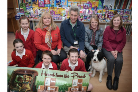 Harlaxton school boosts funds for furry friends